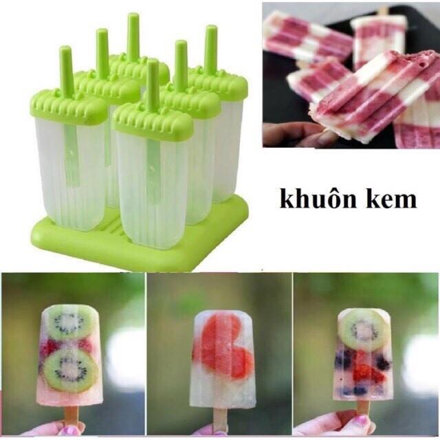 Sỉ khuôn làm kem 6 que bằng nhựa - 3334930 , 948853383 , 322_948853383 , 50000 , Si-khuon-lam-kem-6-que-bang-nhua-322_948853383 , shopee.vn , Sỉ khuôn làm kem 6 que bằng nhựa