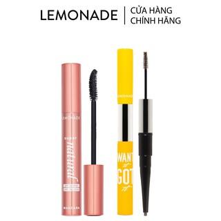 Combo Lemonade Mascara SuperNatural 7.5g và chì kẻ mày 2 đầu Want It Got It 2.75g thumbnail