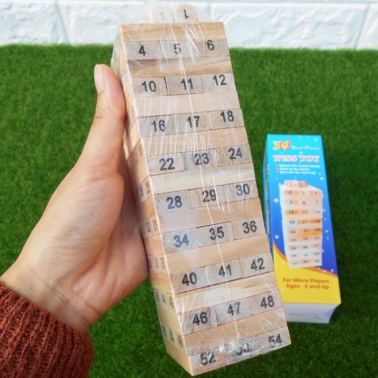 Bộ đồ chơi rút gỗ Wiss Toy 54 thanh cho bé (5 cm x 5cm x 16.5cm) - 23053307 , 3412558023 , 322_3412558023 , 150000 , Bo-do-choi-rut-go-Wiss-Toy-54-thanh-cho-be-5-cm-x-5cm-x-16.5cm-322_3412558023 , shopee.vn , Bộ đồ chơi rút gỗ Wiss Toy 54 thanh cho bé (5 cm x 5cm x 16.5cm)