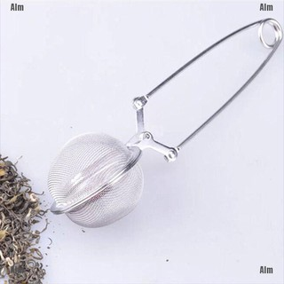 Hàng Nội Địa Trung Stainless Steel Spoon Tea Ball Infuser Filter Squeeze Leaves Herb Mesh Strainer