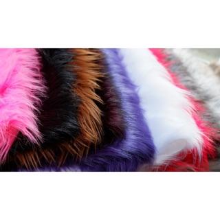 Thảm lông chụp hình size nhỏ nhiều màu (lông dài)