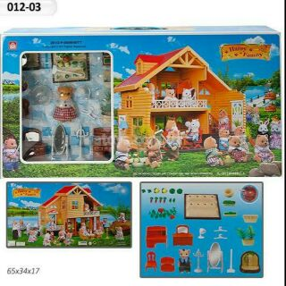 Hộp đồ chơi NGÔI NHÀ CỦA GẤU 012-03