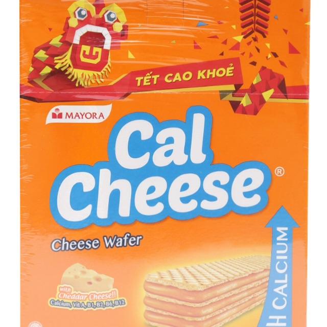 Bánh Xốp Phô Mai Calcheese Hộp 340G