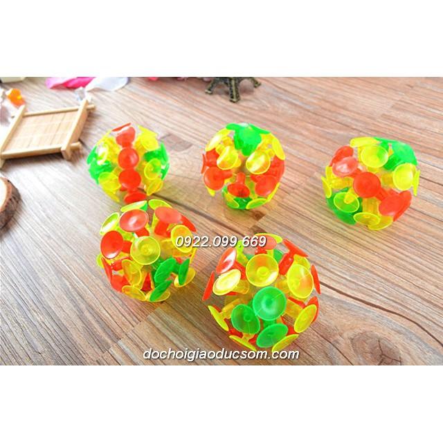 Bóng ném dính/ bóng hít dính Sticky ball - loại không đèn nháy