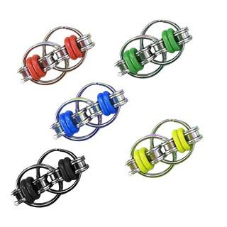 DreamForest Toy Ring Spinner Stress Key Interlocking Links Finger