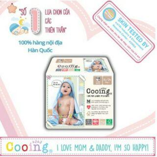 Tã quần Cooing nội địa Hàn Quốc M36 L32 XL26 thumbnail