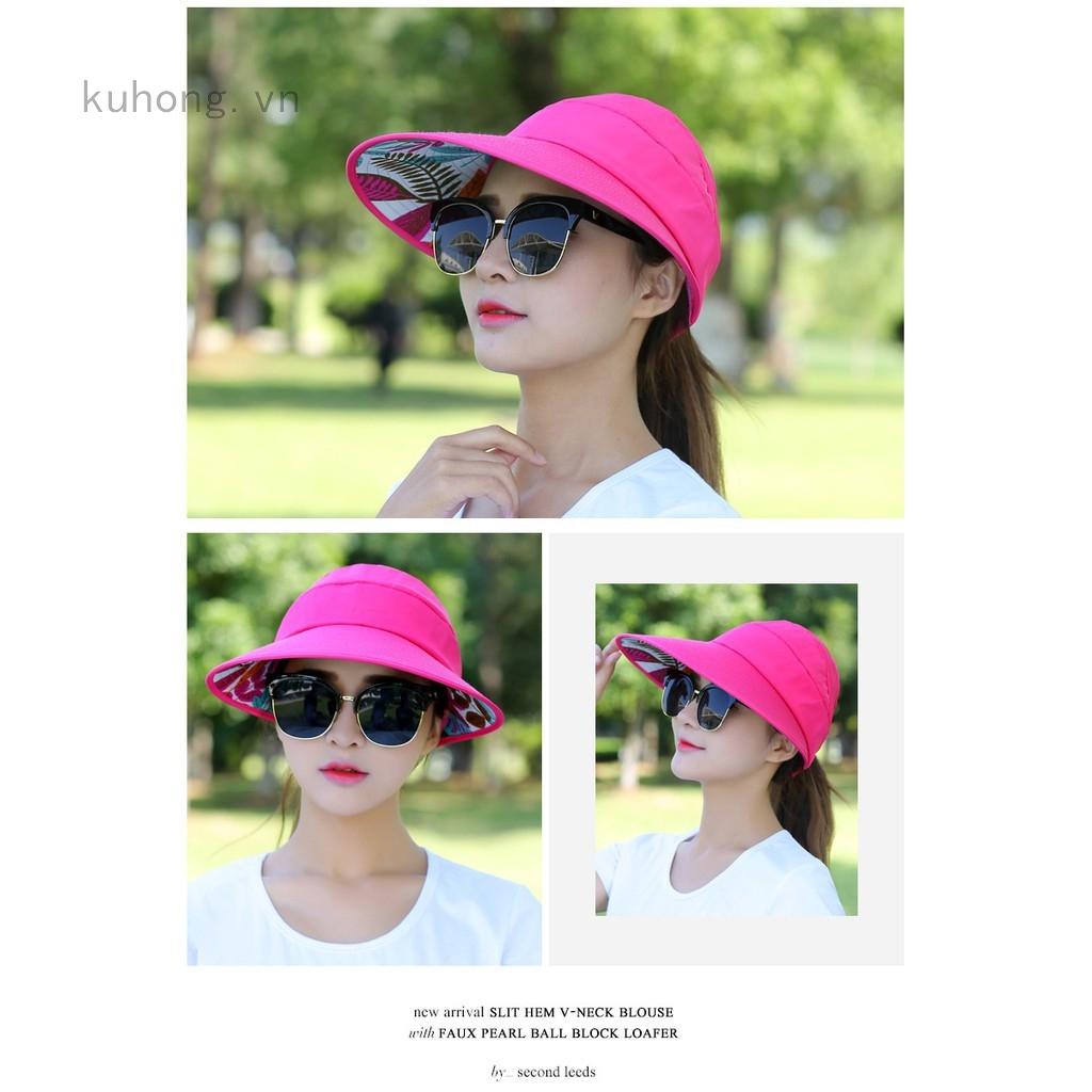 Mũ vành rộng che nắng thời trang đi biển cho nữ