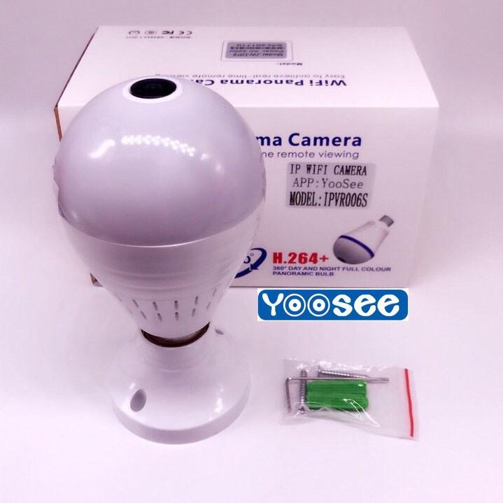 Camera Icsee VR960 giả dạng bóng đèn Panorama 360 độ