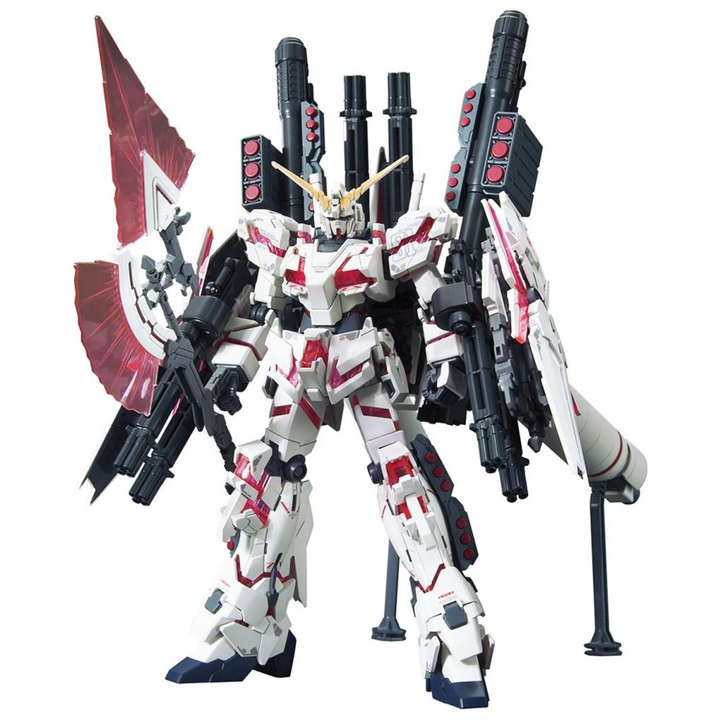 Mô Hình Lắp Ráp Bandai HG Full Armor Unicorn Red Ver