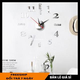 Đồng hồ SALE ️ Đồng hồ dán tường phù hợp với không gian văn phòng, ở nhà, thiết kế thông minh, sáng tạo 6971