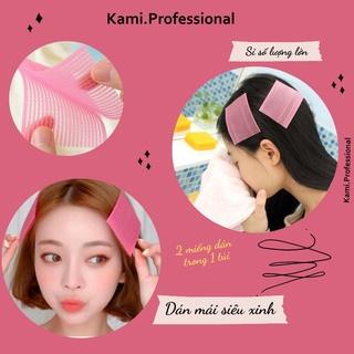 [Mã SRJULY1619 giảm 15K đơn 50K] Miếng dán tóc mái tự dính cố định tóc giúp trang điểm rửa mặt (SET 2 MIẾNG) thumbnail