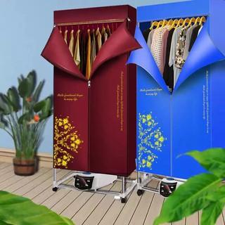 Tủ sấy quần áo công suất lớn 1800W CQC, máy tỏa nhiệt 360 độ,màn hình LED,điều khiển từ xa,loại tốt {BH 1 năm}_KokiaHome