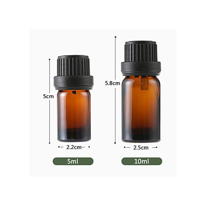 Bộ 10 chai thủy tinh đựng tinh dầu nhỏ giọt 5 ml