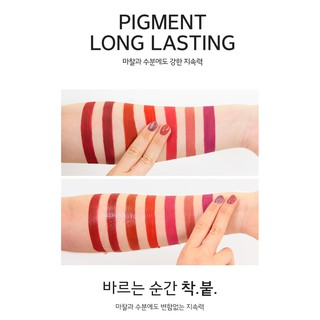 Son tint lì Merzy Off The Record Fitting Lip màu hồng nude F6 - Freedom Rose 5,5g-2