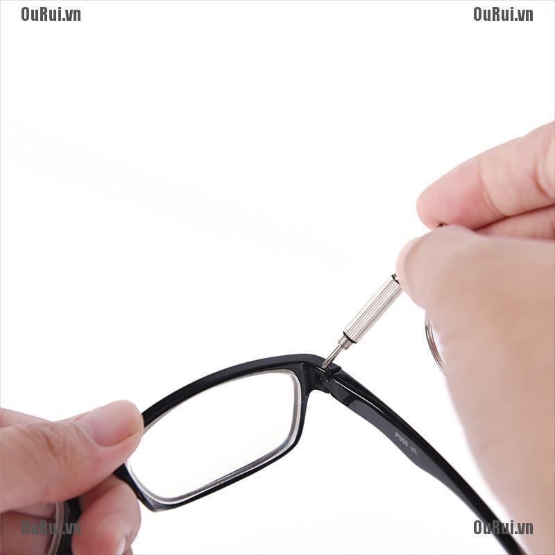 {FCC}Bộ dụng cụ vặn ốc vít sửa chữa mắt kính chuyên dụng tuyệt vời{OuRui.vn}