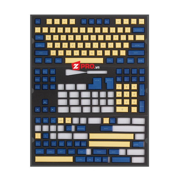 Bộ Keycap PBT DSA Yellow-Blue 145 keys - 2828060 , 1202361380 , 322_1202361380 , 990000 , Bo-Keycap-PBT-DSA-Yellow-Blue-145-keys-322_1202361380 , shopee.vn , Bộ Keycap PBT DSA Yellow-Blue 145 keys
