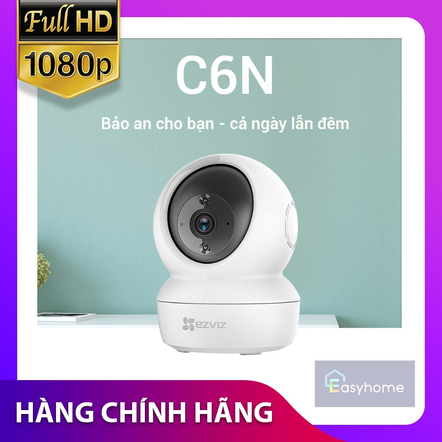 CAMERA WIFI EZVIZ CV246 1080P C6N ( Thay thế C6CN 2MP ) - CHÍNH HÃNG - BẢO HÀNH 24 THÁNG