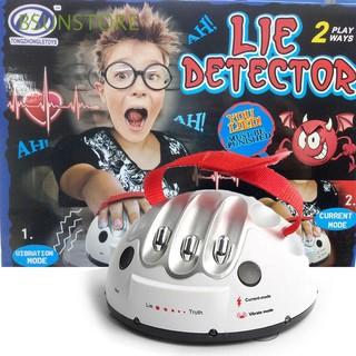 Novelty LED Light Entertainment Test Truth Dare Shocking Liar Game
