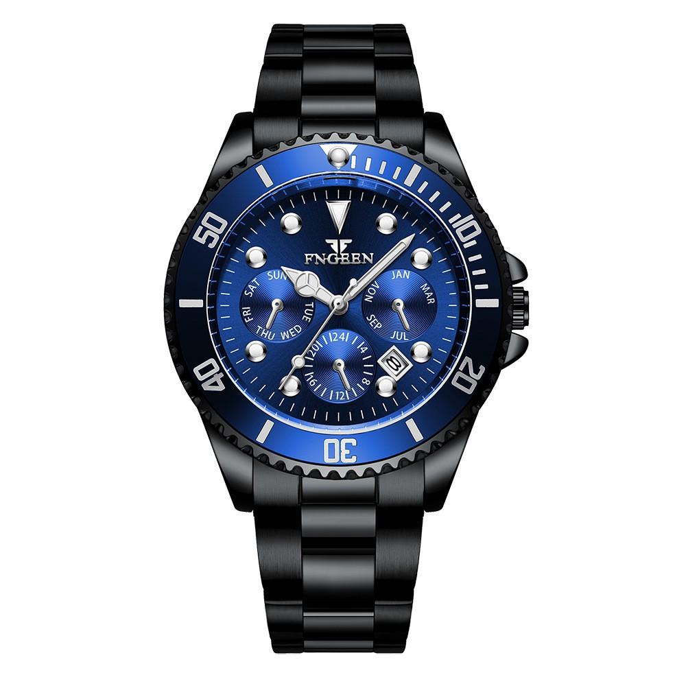 Đồng hồ nam FNGEEN chính hãng, mặt tuyệt đẹp, dạ quang, chống nước tốt