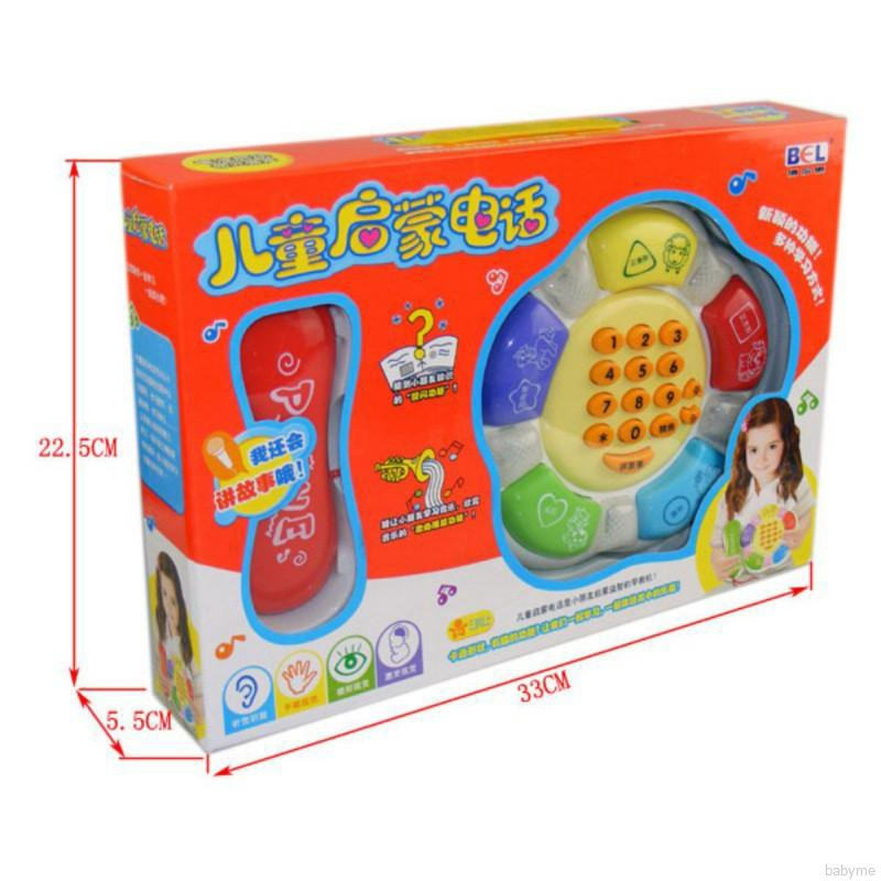 Kids Baby Educational Learning Toys Music Gift for Children Music Story Phone