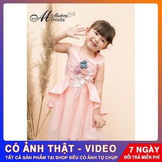 Váy Đầm trẻ em ⚡️ 𝐅𝐑𝐄𝐄 𝐒𝐇𝐈𝐏 ⚡️ Váy bé gái chất liệu tacta 2 lớp dày dặn - dễ thương - Hàng Thiết Kế Cao Cấp Cho