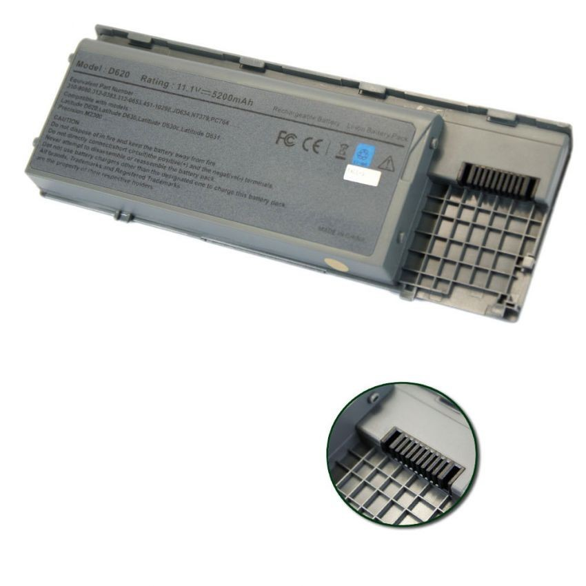 Pin laptop Dell Latitude D620, D630