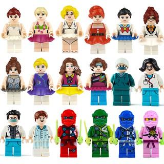 Mô hình lắp ráp lego công chúa bạch tuyết Anna Alisa người cá Ariel dùng làm quà tặng cho bé gái thumbnail