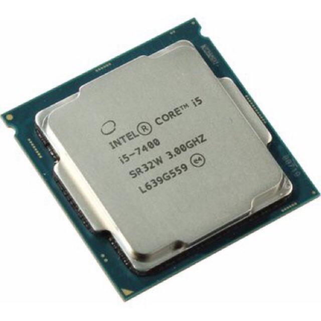 [SALE 10%] Bộ vi xử lí, CPU Intel Core i5-7400 tray (6M Cache, 3.0GHz) SK 1151 chạy main H110 tặng f