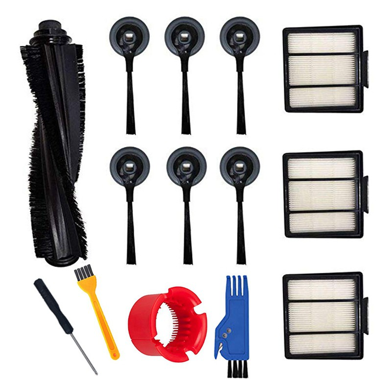 Hepa Filter Brush Vacuum Cleaner Set Fit for Shark Ion Robot S87 R85 Rv850 Rv850Br