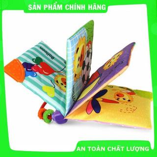 [Giảm giá] Sách vải gặm nướu chủ đề hình khối cho bé_Hàng chất lượng cao