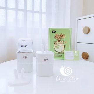 [Chính hãng BH 1 đổi 1] Máy hâm sữa nước Mini di động không dây Jiffi bản 3.0 nhanh chóng chính xác thumbnail