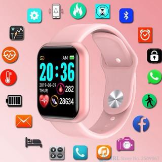 💥BẢO HÀNH 1 NĂM💥 Đồng Hồ Thông Minh Y68 Bản Cao Cấp Kết Nối Bluetooth