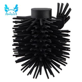 1PC Good Quality Best Promotion Replacement for Bathroom Cleaning Toilet Brush Black Head Hold Bathroom Tool