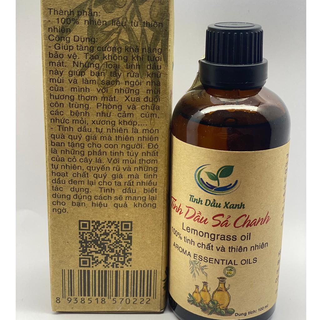 Tinh dầu thiên nhiên 30 ml 💖FREESHIP💖  nguyên chất 100% có kiểm định| Tự chọn mùi ( SẢ CHANH, QUẾ, HOA HỒNG ..) A02