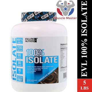 [Mã COSSALE19 hoàn 8% xu đơn 500K] Thực Phẩm Bổ Sung EVL 100% Whey Isolate 5Lbs