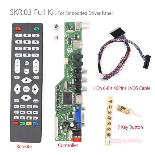 Combo SKR.03 cho màn laptop Led 14.0 15.6 1366x768 thông dụng - 9956661 , 1070723695 , 322_1070723695 , 370000 , Combo-SKR.03-cho-man-laptop-Led-14.0-15.6-1366x768-thong-dung-322_1070723695 , shopee.vn , Combo SKR.03 cho màn laptop Led 14.0 15.6 1366x768 thông dụng