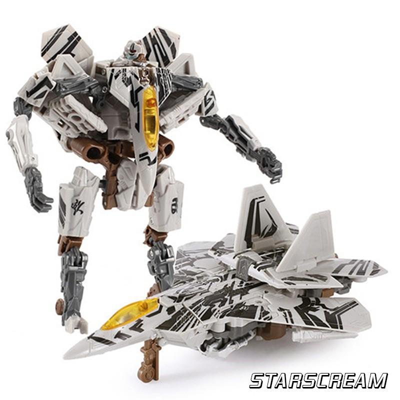 [FOLLOW SHOP 9K - 13H, 24/5 ] Robot biến hình C'MON TOYS Transformers STARSCREAM (trắng)