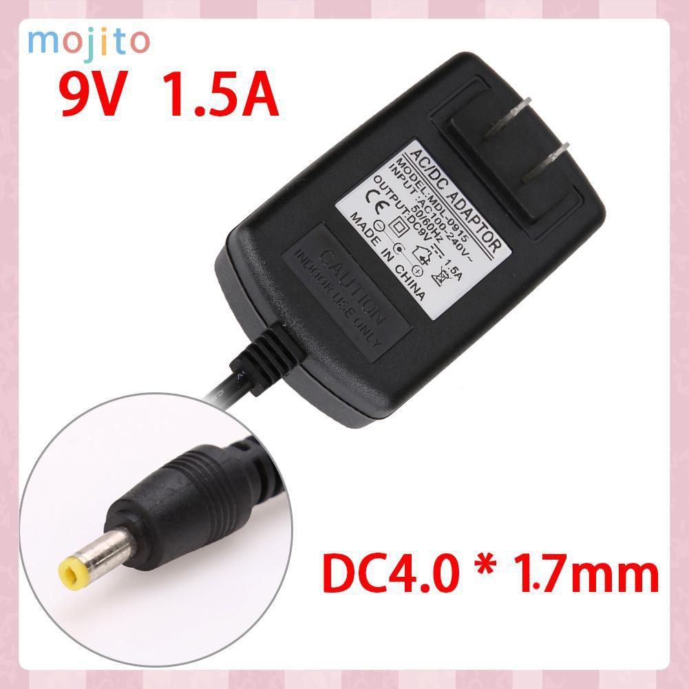 Bộ Chuyển Đổi Nguồn Điện Từ Mojito Ac Sang Dc 4.0mmx1.7mm 9v 1.5a
