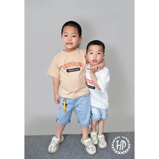 Áo thun bé trai [Hàng Cao Cấp 100% Cotton], áo phông bé trai - HPjeans cực đẹp cho bé trai,  từ 5 đến 8 tuổi [HP001]