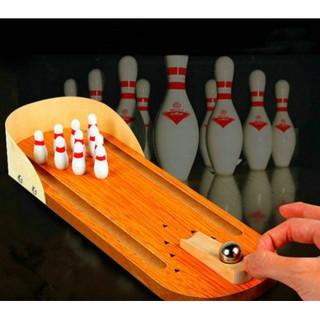Bowling gỗ mini