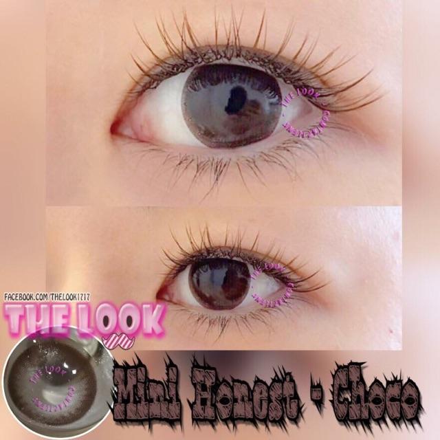 Contact Lens - Mini Honest + Khay Gương + Ngâm + Nhỏ Mắt