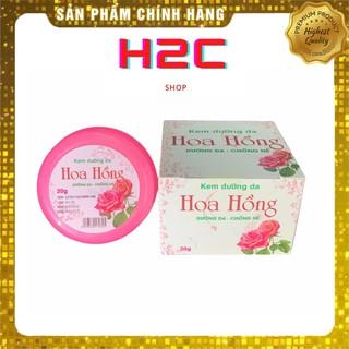Kem dưỡng da hoa hồng Hotuf, chống nẻ dưỡng ẩm làm mềm da 20g, H2C