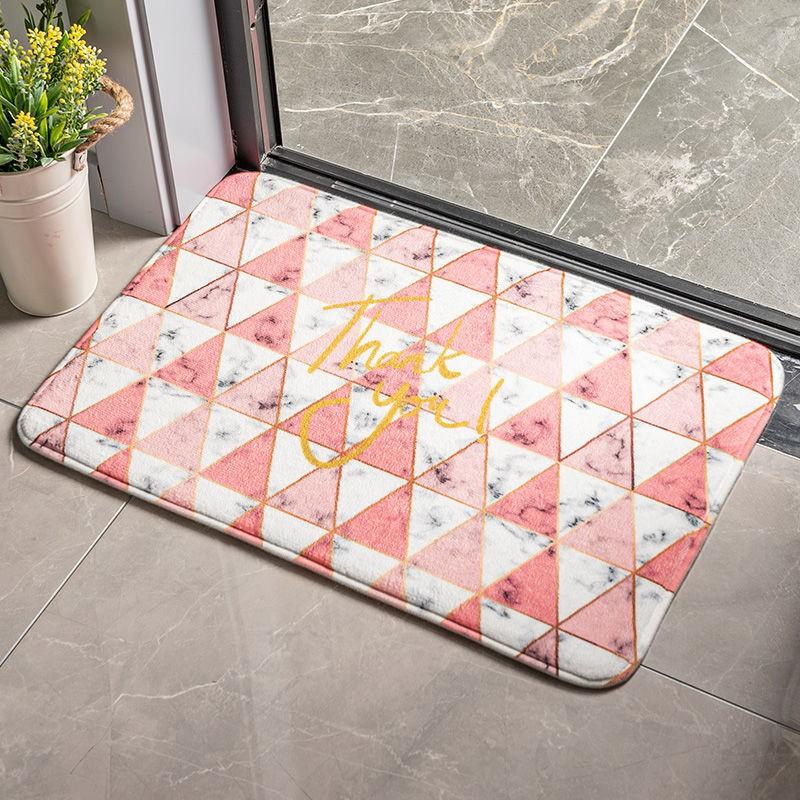 Thảm lau chân, thảm nhà tắm trang trí siêu thấm, chống trơn trượt