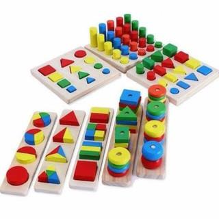 Bộ 8 món Montessori