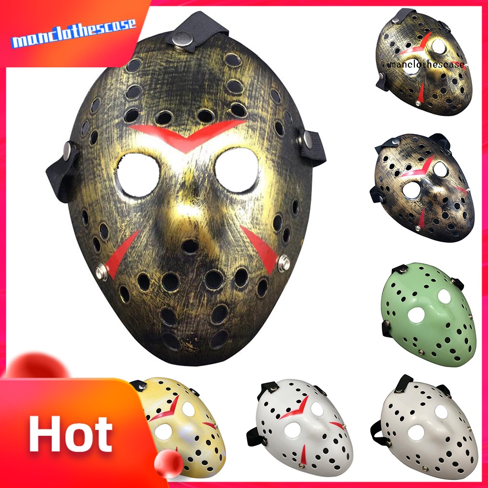 MANC Halloween Party Mask Jasons Voorhees Friday Costumes Horror Movie Cosplay Props