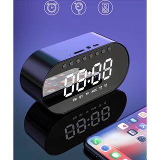 Loa gương bluetooth kiêm đồng hồ báo thức T1