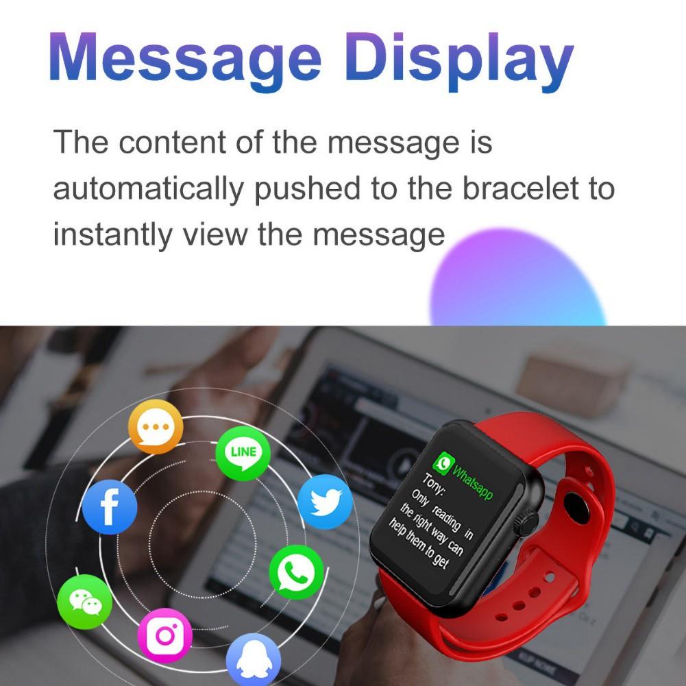 Đồng Hồ Thông Minh Papuacu V6 Kết Nối Bluetooth Theo Dõi Sức Khỏe
