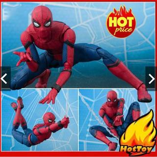[CÓ SẴN][SALE] Mô Hình Người Nhện Spider Man Homecoming Phong Cách SHF – Full Box