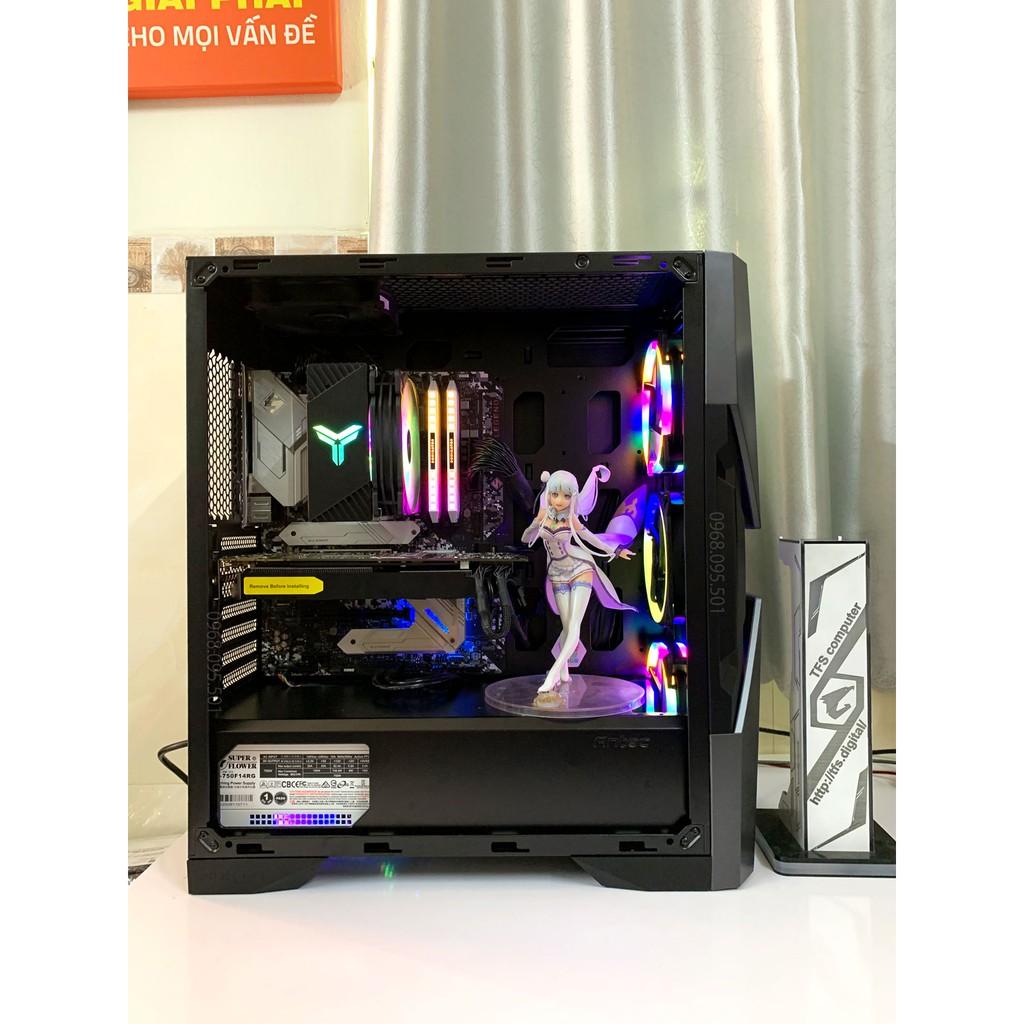 Bộ máy tính Intel i9 9900KF, Ram 32G OC, 512G, Gtx 9804G