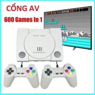 Máy chơi game thông minh Sẵn 600 Trò Chơi Không Cần Cài Đặt Thêm Tay Cầm Chuyên Nghiêp Dây Dài Hình Ảnh HD thumbnail